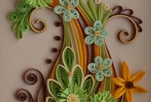 Quilling Art / quilling art, cative work with paper