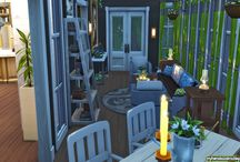 My Sims 4 Patio/Balcony (Decoration)