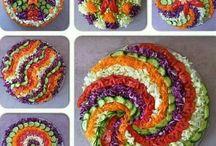 Arte com comida
