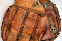 Saddle  and Leather Bags