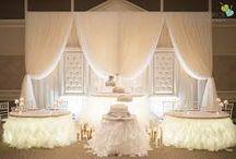 Shaan Wedding Top Tables / WEdding Top table ideas 2015