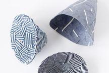 Vessels / Textile vessels/ ceramic