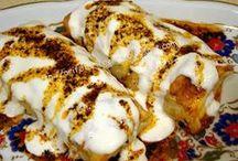 garnütürlü tavuklu börek