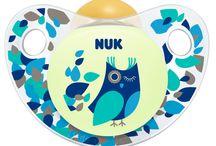 Chupetas NUK Night / As chupetas NUK Night brilham no escuro ajudando o bebé a encontrar a sua chupeta :)