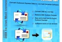 """Outlook Express to Live Mail Converter / Outlook Express to Live Mail Converter Software automatically finds dbx file location and export outlook express file into live mail with messages filtering option """"From date"""" to """" to date"""" etc."""