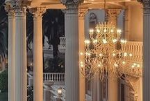 Chandeliers and Candelabras