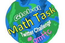#GMTTC Global Math Task Twitter Challenge / Connecting classroom virtually to exchange math task.Join the challenge! Pins by @Bevladd & @swampfrogfirst
