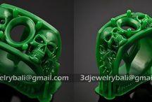 Bali jewelry designer using 3D technologies / silver jewelry designer Bali silver 3D designer Indonesia 3D jewelry 3D perhiasan Indonesia
