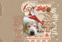 Scrapbook Ideas - Christmas / Layouts that I love featuring Christmas and all the memories, feelings, and thoughts associated with it.