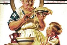 Norman Rockwell / by Larry DeWein