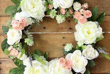 floral wreath / Blumenkranz