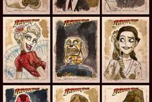 Sketch Cards / Various Artist Convention Style Sketch Cards