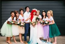 Little Mermaid Wedding / Little Mermaid Theme Weddings Inspirations