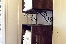 Storage ideas-bathroom,laundry,etc