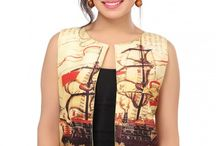 Quirky Waist Coats / Quirky and stylish waist coats with an ethnic touch.