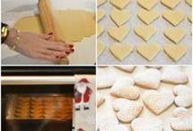 bolos e biscoitos