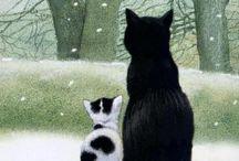Cat Art / by Tove Braathen