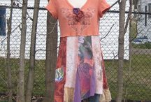 Clothing using upcycled materials