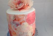Wafer Paper Wedding Cakes