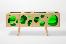 Cabinet / Pasta de armários com estilos, cores e acabamentos variados.