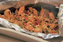 Seafood Recipes / by Jeanette Edgington Haupt