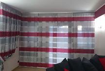 Tende per interni / Foto, video e descrizioni, confezioni tessuti per interni