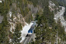 Trains in Truckee