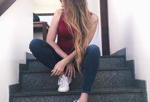 fotos Tumblr na escada
