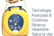 Defibrillatore HeartSine 350P / Il 350P è il modello di defibrillatore HeartSine clinicamente avanzato ma facile da trasportare ed usare, esso è progettato in modo che chiunque, dal soccorritore formato al professionista dell'emergenza, possa salvare una vita, in qualsiasi luogo e condizione.