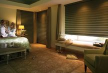 Blackout Shades / Black out shades and curtains for privacy and light control. Contact Bellagio Window Fashions. https://plus.google.com/+BellagioWindowFashionsToledo / by Window Treatments