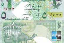 Billets Qatar / Le riyal qatarien ou riyal qatari (parfois orthographié rial) est la monnaie officielle du Qatar. Les billets de banque Qatar en circulation sont : 1, 5, 10, 50, 100 et 500 QAR.
