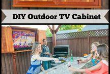 patio cabinets
