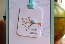 My favourite Stampin' Up! stamp sets / Check out my favourite all time stamp sets and things made with them.