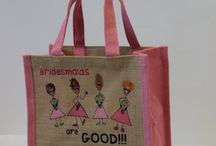 Wedding / Our bags makes great bridal party gifts, or gift bags for a little something to say thank you x