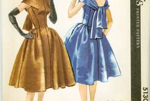 Sewing Patterns and Pictures for Clothing and Fashion - Women, Men / Old, Vintage, Retro