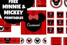 Mickey / Aquí podrás encontrar muchas ideas para que decorar tu fiesta Mickey !!