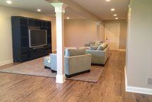 Basement flooring / Laminate