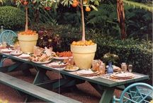 Tabletop Design / Tablescapes, settings and designs  / by P. Allen Smith