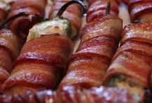 Bacon wrapped food