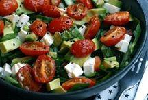 Gode salater / Inspirasjon til nydelige og sunne salater | Nyttig mat | Sunne oppskrifter | Sunn salat | Salat oppskrifter | Healthy salad | Middag oppskrifter | Lunsj oppskrifter | Sunn mat