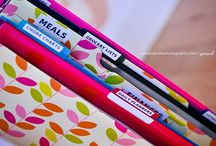 Home Management Binder/Printables / Organizing tips, sheets, ideas for making binders, printables, etc. / by Christina Budd