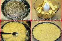 crostata fredda con paesini e mascarpone