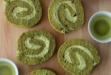 Green tea Matcha cakes