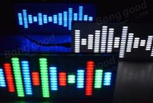 LED Music Spectrum Sound Waves Kit