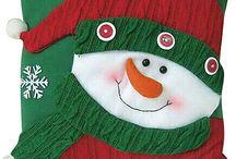chrismas pillow/ Karácsoni párnák