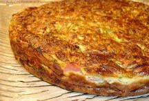 clafoutis  jambon courgettes