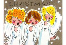 blond kerst