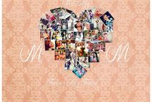 Mom Gift Ideas / Gift ideas for MOM, Holiday gifts for mom, Christmas gifts for mom, Hearts, Heart collage, Photo Collage, Wedding gift for Mom, Mother-in-law gifts
