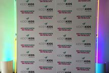 Step and Repeat / Create the perfect backdrop for your event with Shag Carpet's Step and Repeat walls. Size can be scaled in 4 foot increments. Consider printed panels or fabricated custom panels.