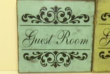Guest room - Reading Room / by Amanda Linder